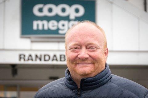 Gleder seg: Geir Ottar Lunde har bred erfaring, og er nå klar for en ny utfordring som butikksjef på Coop Mega Randaberg.