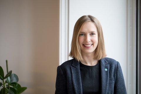 Næringsminister: Iselin Nybø (Venstre) svarer bøndene på Randaberg om hvordan hun vil sørge for en frihandelsavtale med britene, som ivaretar interessene til både havbruk og landbruk.