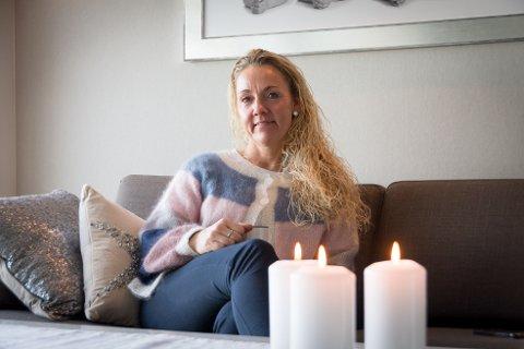 Brannmann: Alfhild Randi Håheim ble brannmann etter å ha mistet alt fra barndommen.