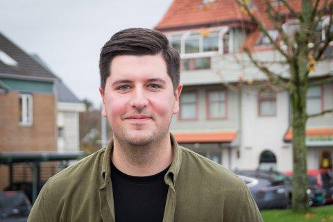 Følger drømmen: Dino Serdarevic slutter i Randaberg IL for å følge drømmen sin i Viking.