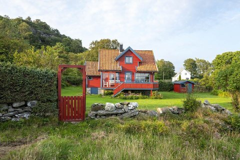 Fritidsbolig på Veste Åmøy.