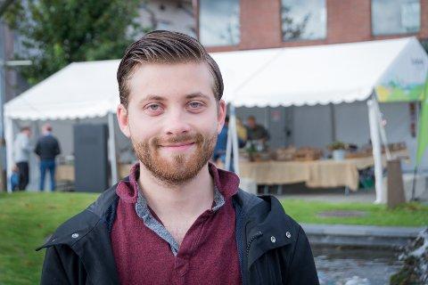 Målbevisst: Robert Raustein (24) drømmer om å bli Fremskrittspartiets første ordfører i Randaberg.