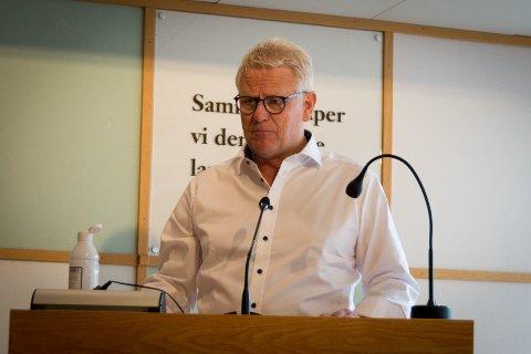 TRIST: Svein Sørnes er trist på vegne av landsbyen når Høstmarken må utsettes.
