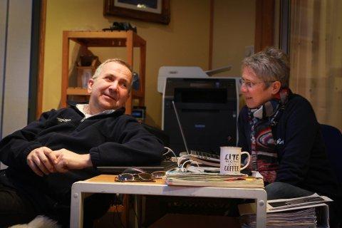 Givende: Ingvar og Silje synes det er givende, og kunne skape gode minner for flere folk.