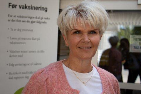 Siw Diane Myhre Johanson, vaksinekoordinator ved Randaberg kommune