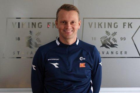Spennende: Erik Nevland gleder seg til å komme i gang som sportssjef.