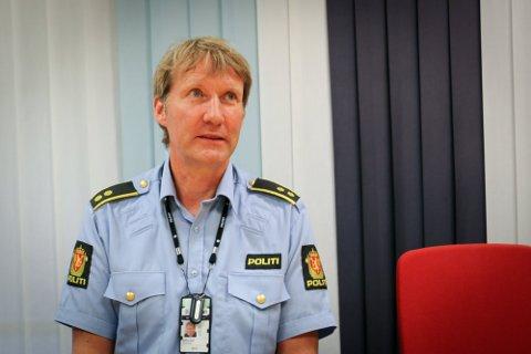 Politioverbetjent og leder for etterforskning- og etterretningsseksjonen i Sør-Vest politidistrikt, Trond Atle Bjelland