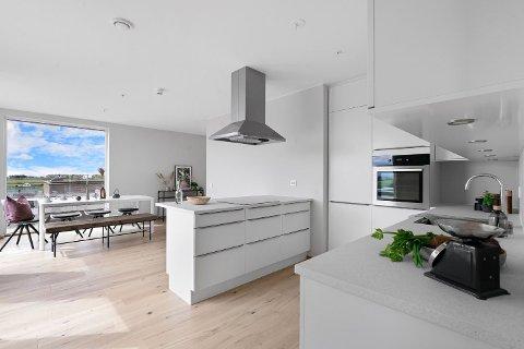 Dyreste: Denne leiligheten var den dyreste boligen på Randaberg, før den ble solgt på tirsdag.