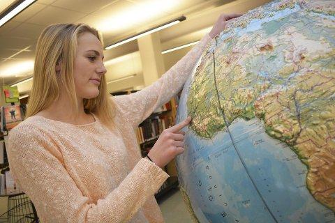 Rettferdig verden: Maria Grønland Andresen brenner for en mer rettferdig verden og mener norske elever må få øynene opp – vet de hvor heldige de er som får gratis skolegang?