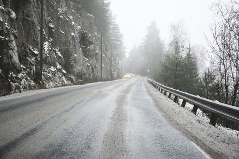 Heggenveien – fylkesvei 144 i Modum