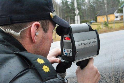 LASER: En mann i slutten av 40-årene ble stoppet i 121 km/t i 60-sone på Øst-Modumveien, i forrige uke måtte han svare for seg i Buskerud tingrett.