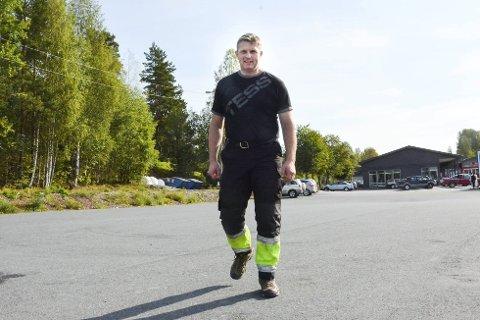 Forundret: Torstein Aasen (Sp) mener Høyre opptrer næringsfiendtlig i debatten rundt utviklingen av Prestfoss sentrum. Arkivfoto