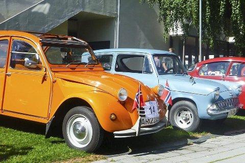 SMÅ-LEKKERT: I helgen kommer det mange gamle og små kjøretøy til Hokksund. FOTO: PRIVAT