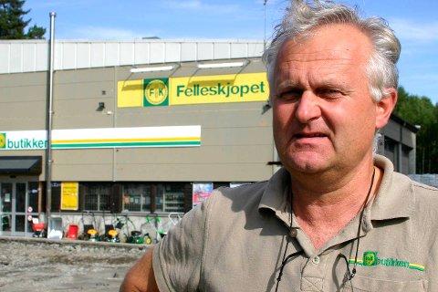 Erstatningssak: Svein Tandberg ved Felleskjøpet.