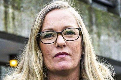 VIL SI SITT: Trine Nedremo håper å få innflytelse på politikken i Øvre Eiker for Rødt.