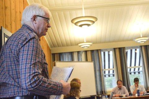Ordføreremne: Ringreven Knut Martin Glesne kan rykke opp som ordfører fra Bygdelista.