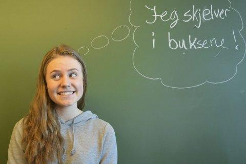 Skummelt: Det er spesielt å starte på videregående skole, kanskje til og med skummelt. Her skriver vg1-elev Henriette Nordheim om sitt møte med Rosthaug videregående skole.