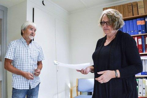 Avslag: Runolv Stegane er i harnisk over at Kari Ask ikke kommer til å fremme sak om folkeavstemming om eiendomsskatt på torsdagens kommunestyremøte.