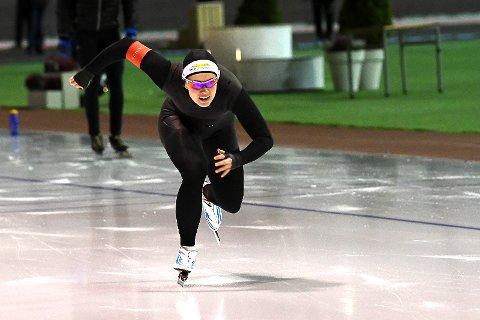 BRONSE: Ellen Bjertnes fra Geithus gikk inn til bronse på sesongens første NM-distanse.