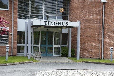 VEDTOK DOMMEN: Den tiltalte mannen aksepterte straffen han fikk i Kongsberg og Eiker tingrett.