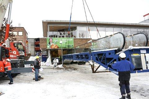 NR. 1: Rullebånd til Kiwigården i Vikersund. Modums første i sitt slag.