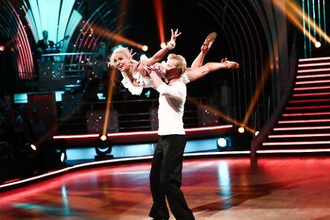 Eilev Bjerkerud og Nadya Khamitskaya er i Skal vi danse på TV2.