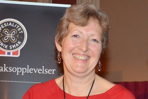 MEDALJE: Anne Mari Sando har kommet hjem med bronsemedalje for Eiker gårdsysteri sin gruveost.
