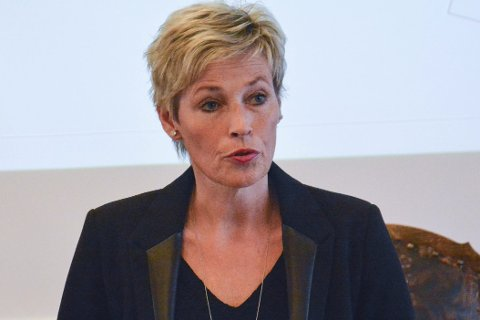 Ikke fornøyd: Ordfører Tine Norman.