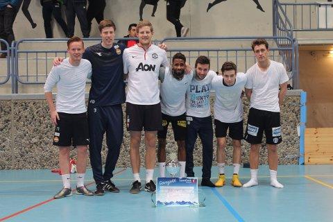 VANT: Ballers FC vant julecupen i Modumhallen.