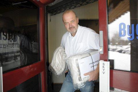 Frustert: Redaktør Knut Bråthen håper Buskerud Distribusjon nå får ryddet opp i avisproblemene i Krødsherad.