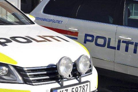 POLITIAKSJON: Politiet måtte tirsdag rykke ut med flere patruljer til Åmot sentrum, det da de skulle assistere barnevernet.
