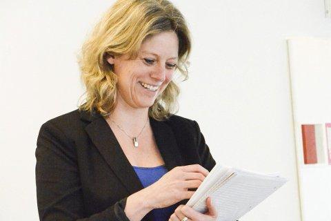 Millioner i gave: Virksomhetsleder Linda Torgersen kan glede seg over at mange generøse givere vil Sigdalsheimen vel.