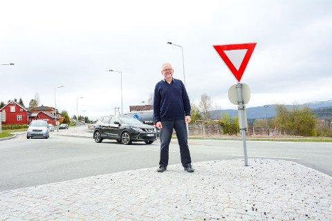 Kjell Tore Finnerud, Aarbeiderpartiet, Sigdal, ny avkjøring rv 35