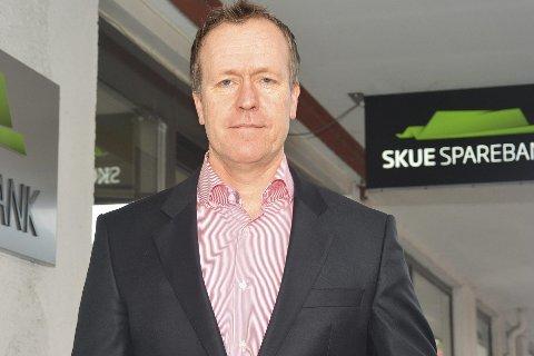 Bekymret: Hans Kristian Glesne i Skue Sparebank er bekymret for et forslag om å øke arbeidsgiveravgiften.Arkivfoto: Stig Odenrud