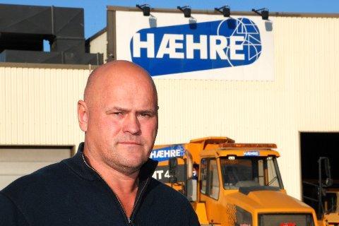 Ulike vilkår: Albert Kr. Hæhre er lei av at ikke alle aktører i anleggsbransjen følger spillereglene. Arkivfoto