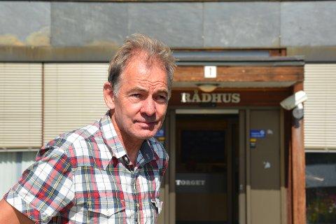 RASKERE: Øystein Lid Larsen at et lite gebyr på klager ville spart mye tid for både utbyggere og i kommunal sakbehandling.