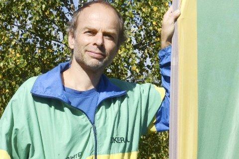 Vant alt i NM: Gjermund Røren fra Vikersund og Eiker O-lag vant samtlige tre distanser i NM.