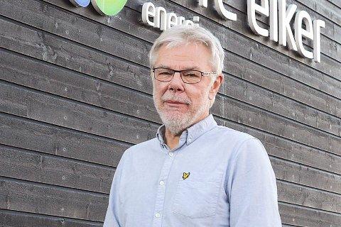 Streik: Om partene ikke blir enige kan det bli streik fra fredag morgen, sier administrerende direktør Lars Andresen, i Øvre Eiker Energi