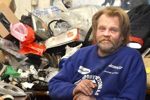 300 ELLER 3,1 MÅL? Kommunen mener at GBL og frontfigur Leif Arne Rolfstad har 3,1 mål til næringsformål, ikke 300 som GBL hevder.