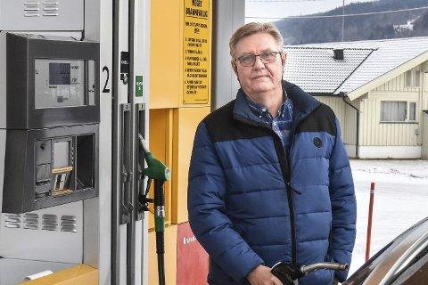 LYDIG: Tore Fossen fra Vikersund kjøpte ny dieselbil i 2011.