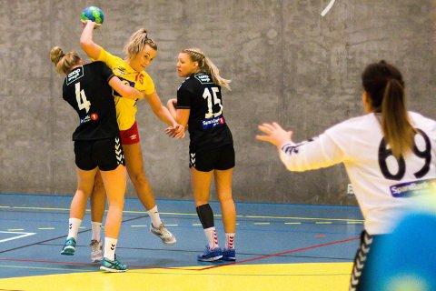 TOPPSCORER: Linn Kristin Tandberg ble toppscorer for Hokksund borte mot LFH09 onsdag kveld.