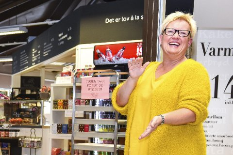 SPRUDLENDE: Anne Marie Trulsrud er en energisk og kreativ dame.