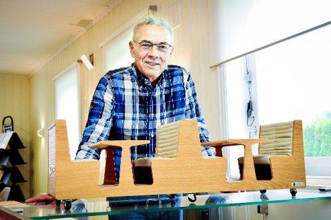 TO ÅR: Boye Arntzen fikk bare to år som pensjonist. – Jeg kunne godt tenkt meg å prøvd det igjen, sier han og ler. FOTO: ARKIV