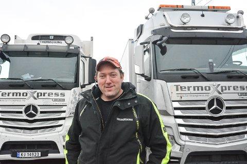 BEST I MIDTFYLKET: – Forskjellen mellom suksess og fiasko kommer an på detaljene, mener Atle Wie Marthinsen, som driver Termoxpress AS i Hokksund. Bedriften er en av dem som vokser raskest i Buskerud.