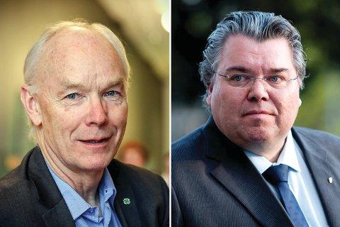 BYTTER BEITE: Både Per Olaf Lundteigen (t.v.) og Morten Wold får nye utfordringer.
