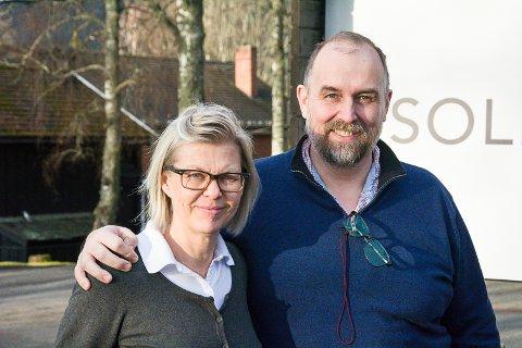 VERTSKAPET: Maria og Peter Drachmann Næsstrøm er i full gang på Sole Gjestegård, og de håper lokalbefolkningen vil bruke stedet.