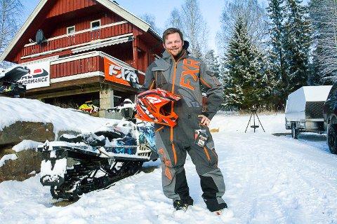 Ingar Ulberg, Sigdal Mur & Flis, Sigdal SledPerformance, snøscooter