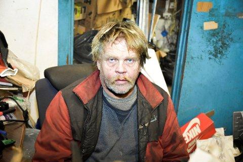 STORE TAP: Leif Arne Wego Rolfstad i GBL Bildeler forteller at tvangsryddingen i 2013 har ødelagt verdier for alltid.