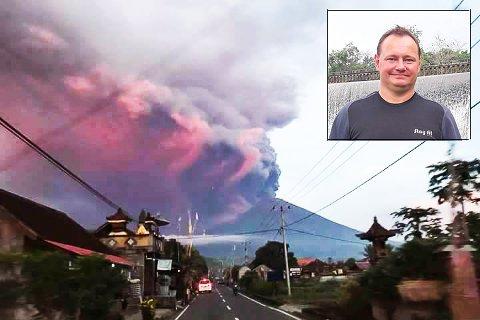 TRYGG: Robert Jordal Foss har det bra på Bali, men innser at han kan bli askefast.