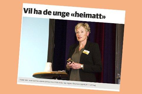 Skjermdump fra bygdeposten.no 26. november 2017.